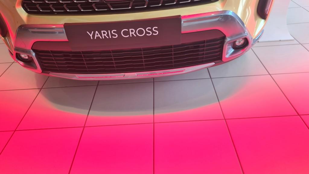 La Yaris Cross dans ma concession !!! 20210730