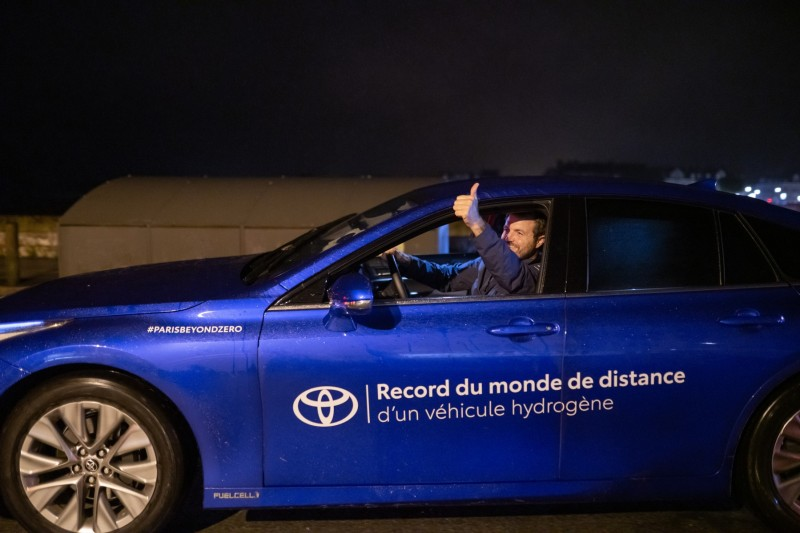Toyota Mirai, plus de 1000 km, record du monde !!! 800_to10