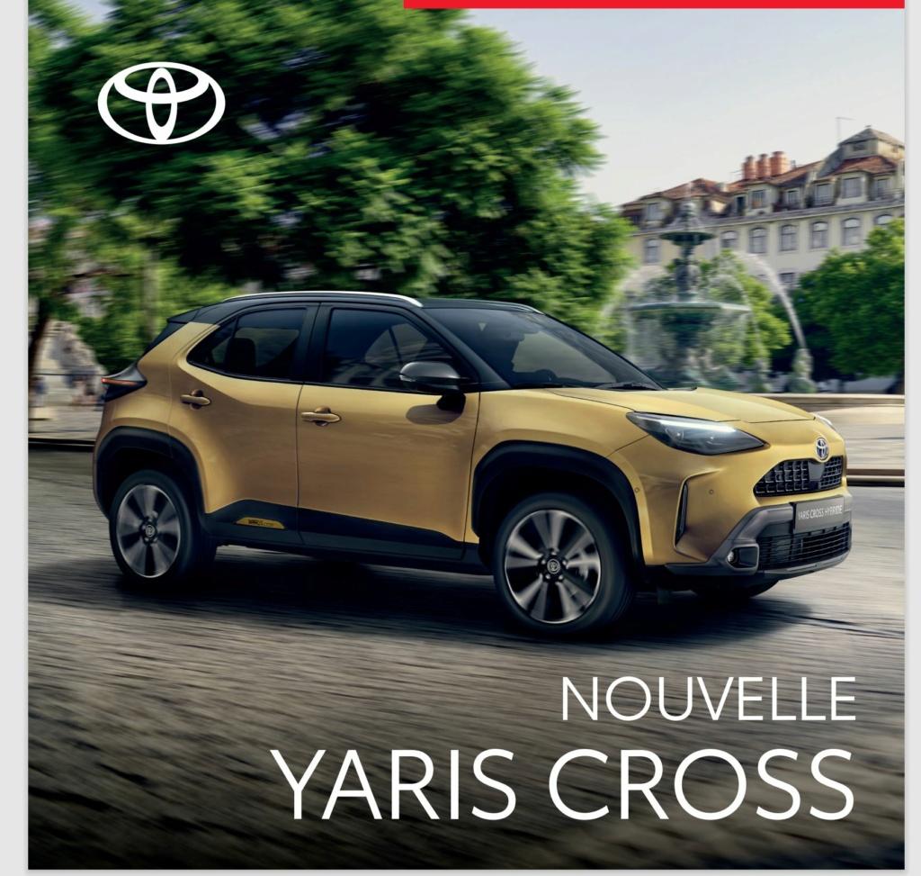Voici la Pré Brochure française de la Yaris Cross !!! Brochu12