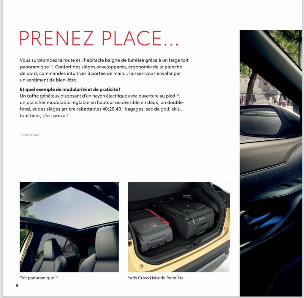 Voici la Pré Brochure française de la Yaris Cross !!! Brochu13