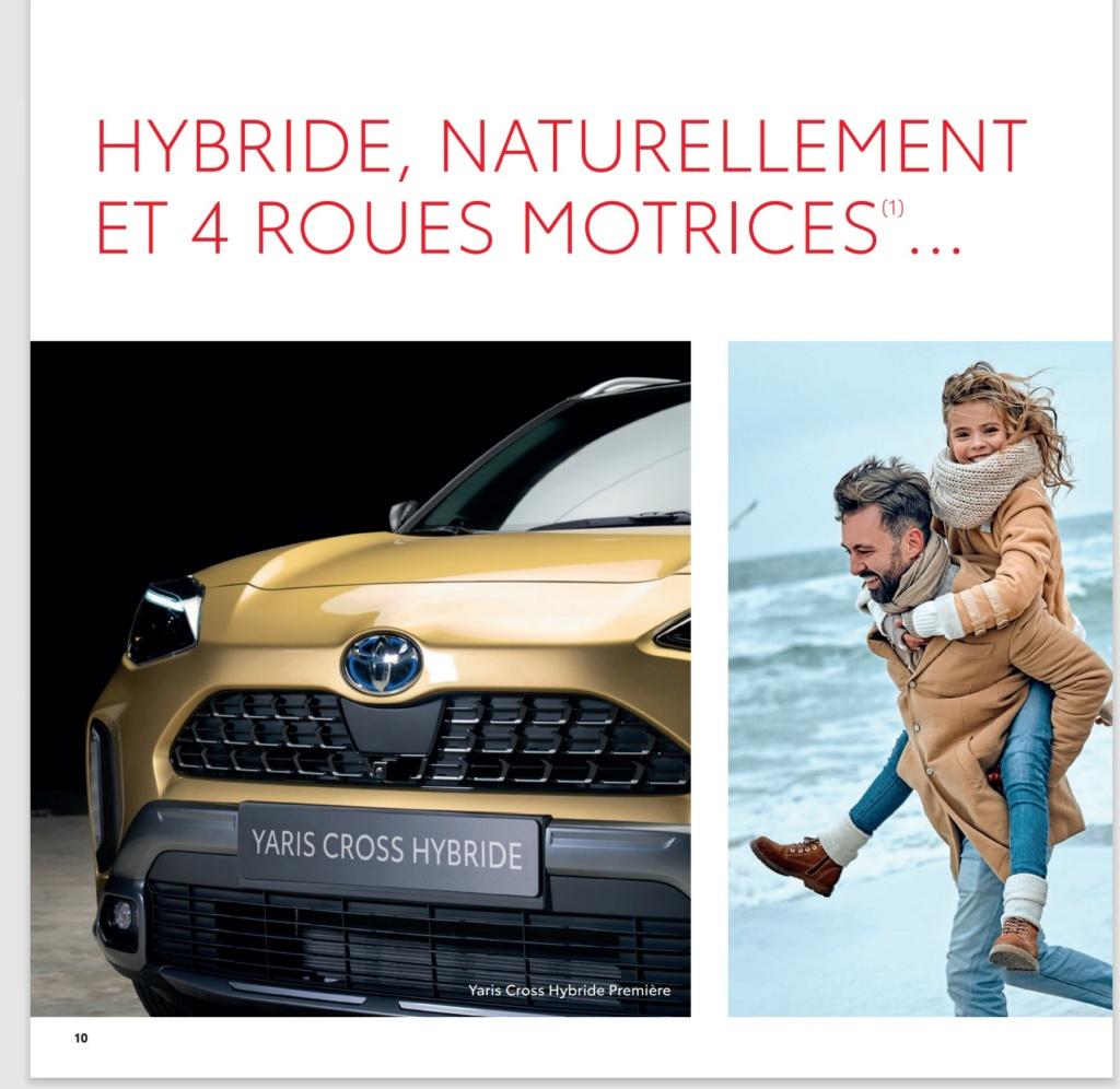 Voici la Pré Brochure française de la Yaris Cross !!! Brochu21