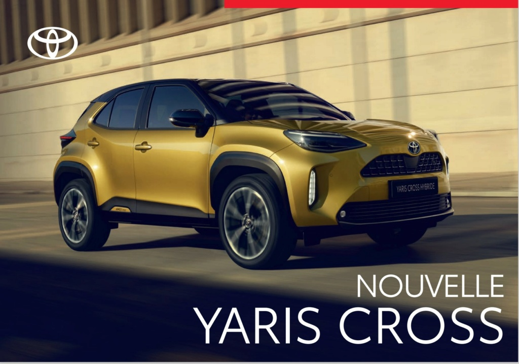 Brochure  Française définitive de la Yaris Cross !!!! Brochu29