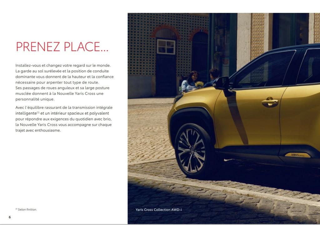 Brochure  Française définitive de la Yaris Cross !!!! Brochu33