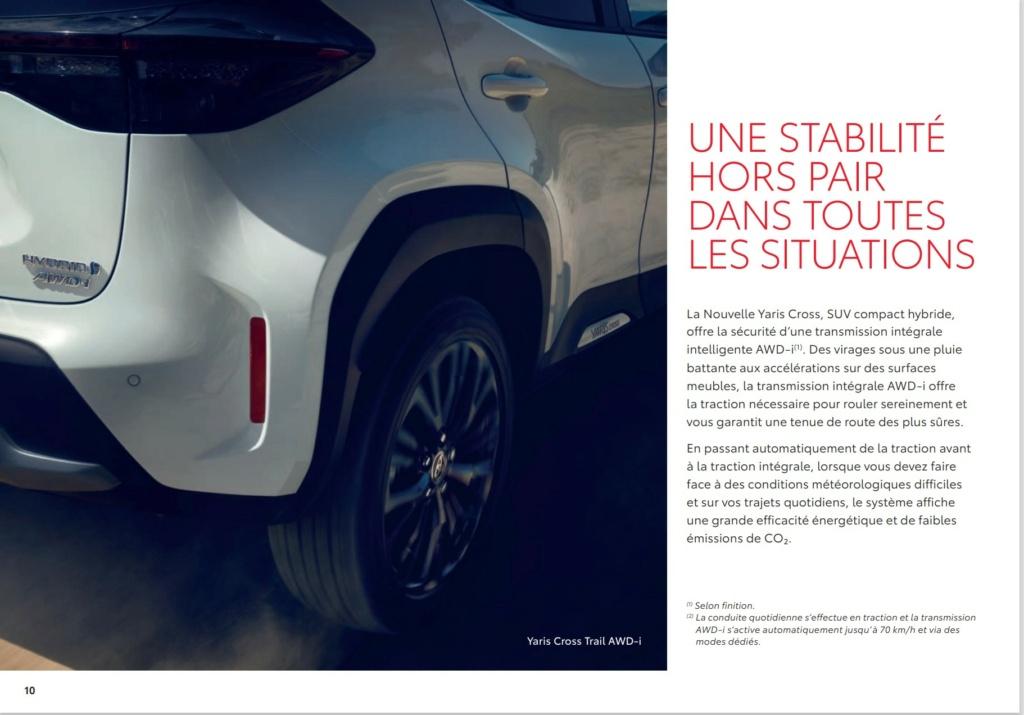Brochure  Française définitive de la Yaris Cross !!!! Brochu40