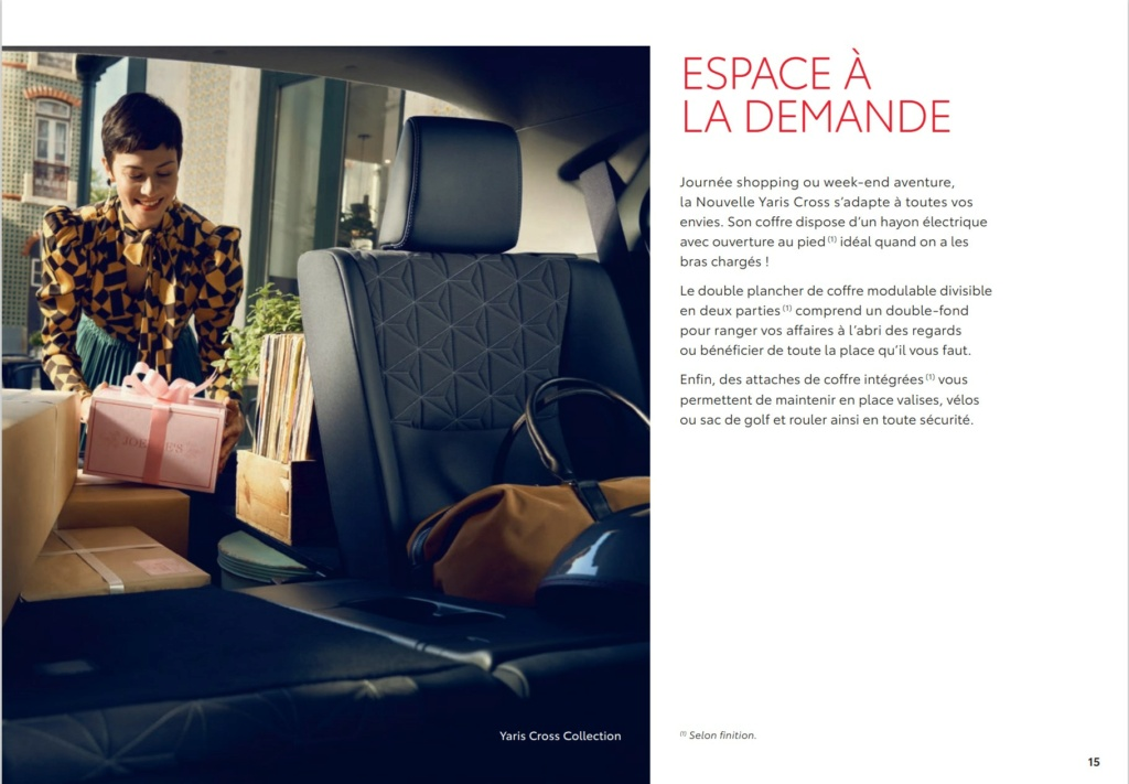 Brochure  Française définitive de la Yaris Cross !!!! Brochu43