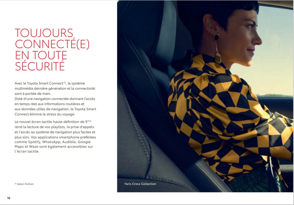 Brochure  Française définitive de la Yaris Cross !!!! Brochu44