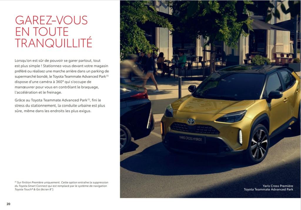 Brochure  Française définitive de la Yaris Cross !!!! Brochu48