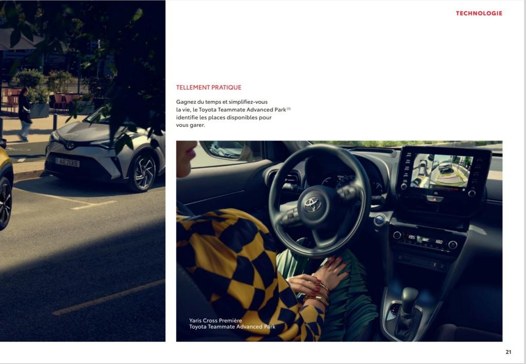 Brochure  Française définitive de la Yaris Cross !!!! Brochu49