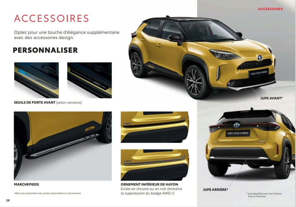 Brochure  Française définitive de la Yaris Cross !!!! Brochu68