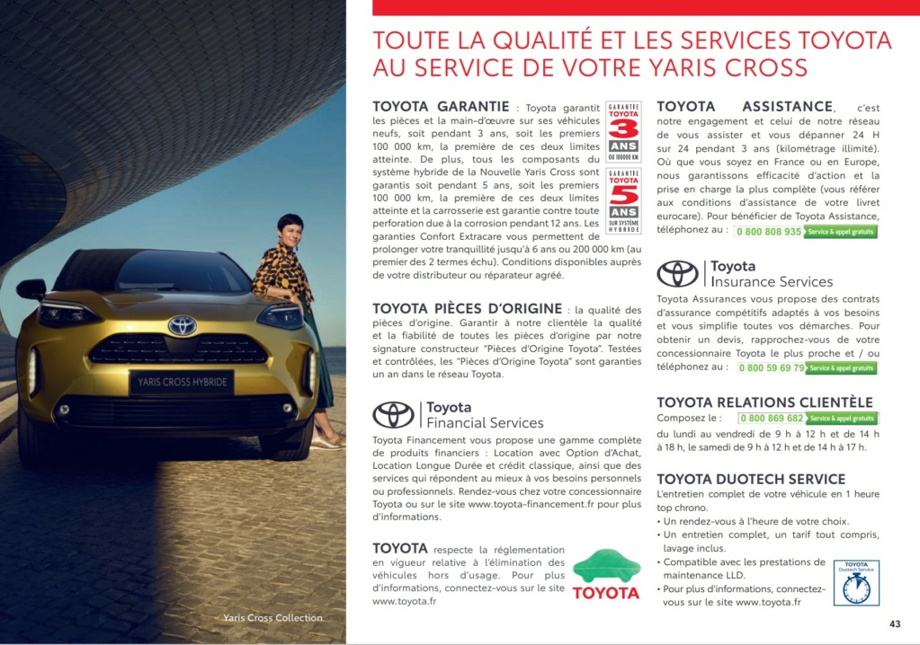 Brochure  Française définitive de la Yaris Cross !!!! Brochu72