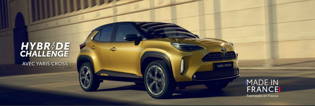 Hybride Challenge Toyota : gagnez votre nouvelle Toyota Yaris Cross Hybride ! Hybrid10