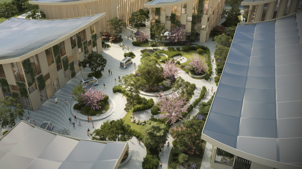 Toyota va construire la ville du futur !!! Mont_f10