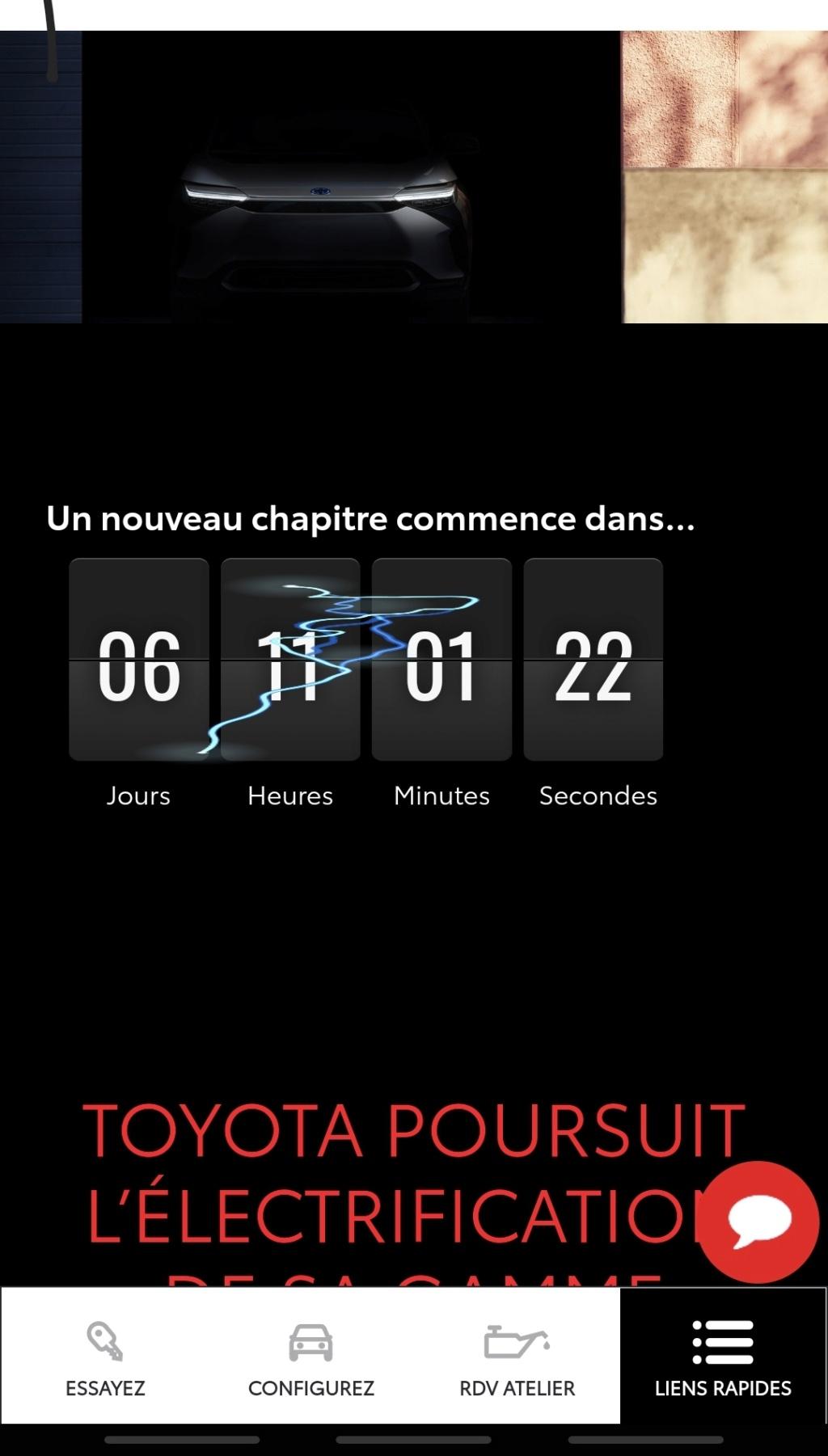 Toyota se lance dans la voiture 100% électrique pour la fin 2021 ! Screen36