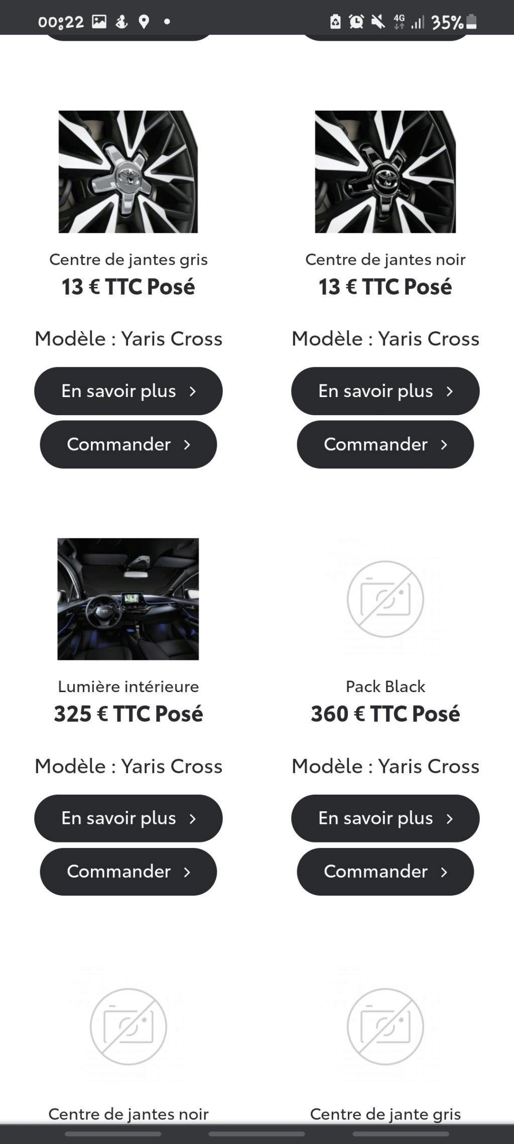 Accessoires pour Yaris Cross Screen56