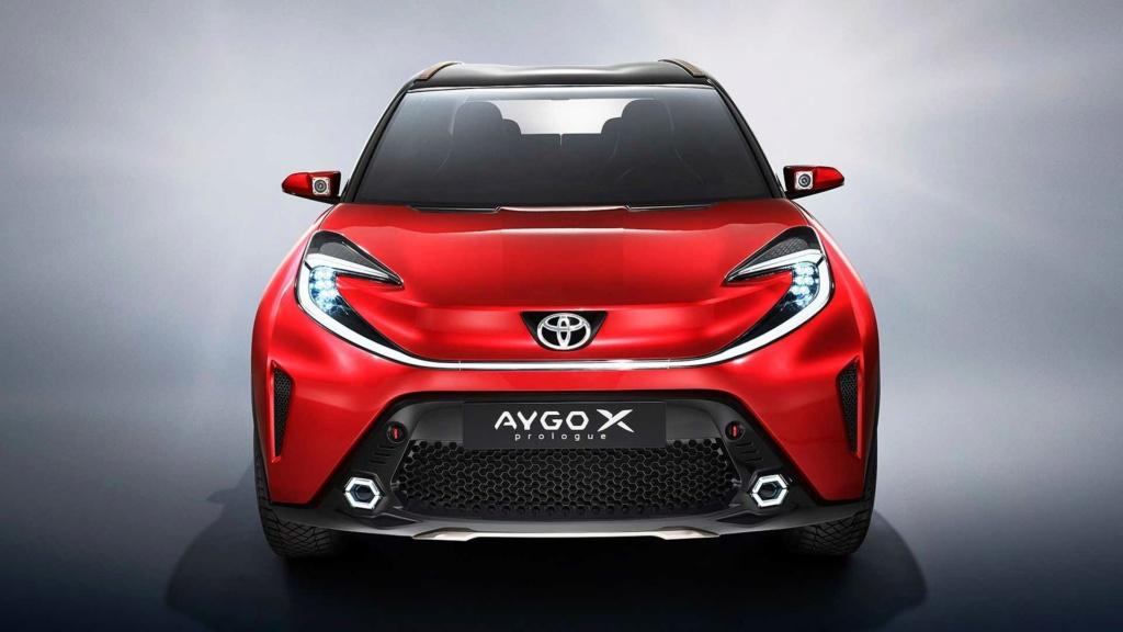 Aygo X Prologue un petit air de SUV !!! Toyota40
