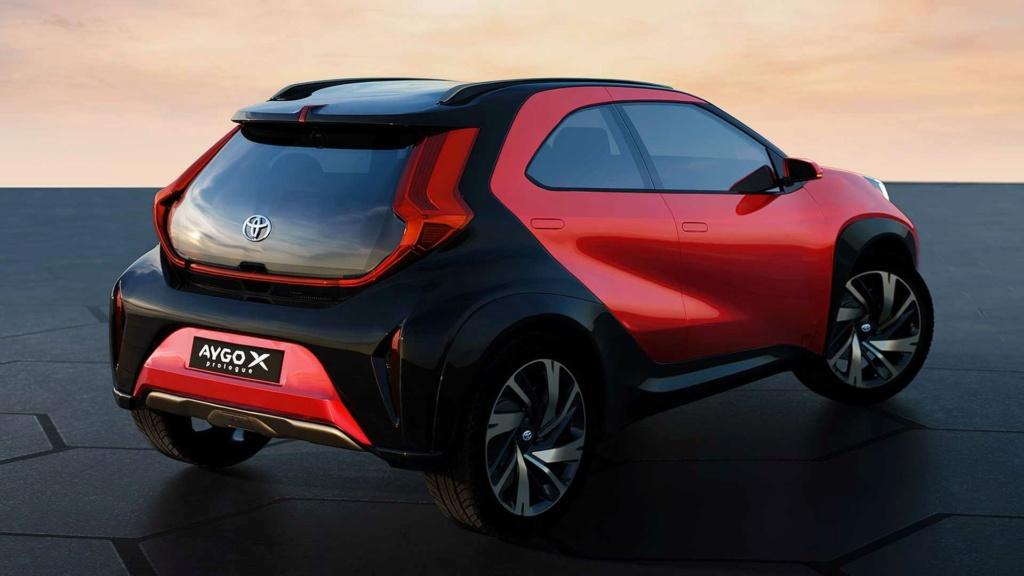 Aygo X Prologue un petit air de SUV !!! Toyota41