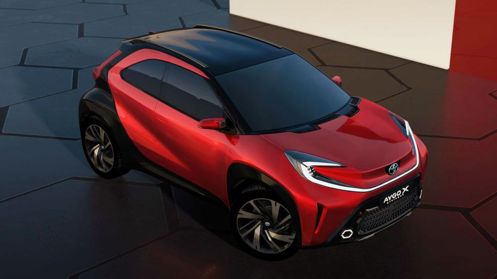 Aygo X Prologue un petit air de SUV !!! Toyota42