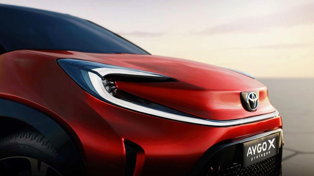 Aygo X Prologue un petit air de SUV !!! Toyota43