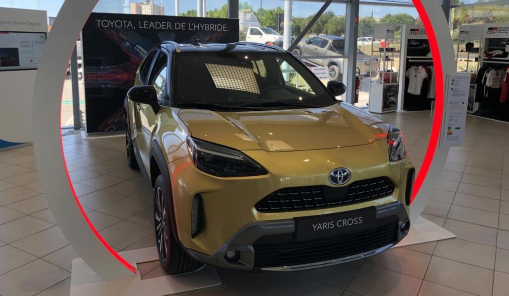 Les Yaris Cross dans vos concessions !!! Toyota91