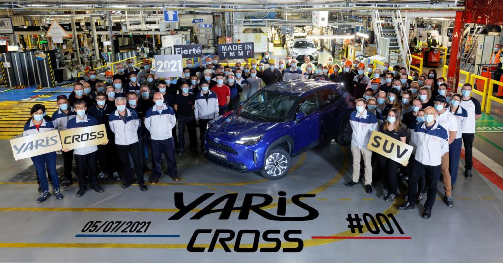 Dans les coulisses de la fabrication de la Yaris Cross !!! Yarisc11