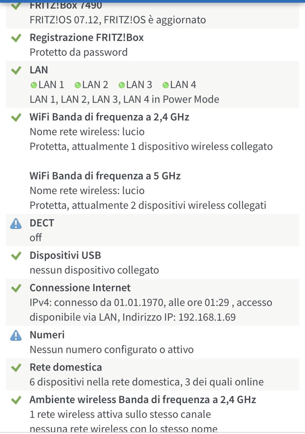 Fritz 7490 non si connette a internet Ae66c810