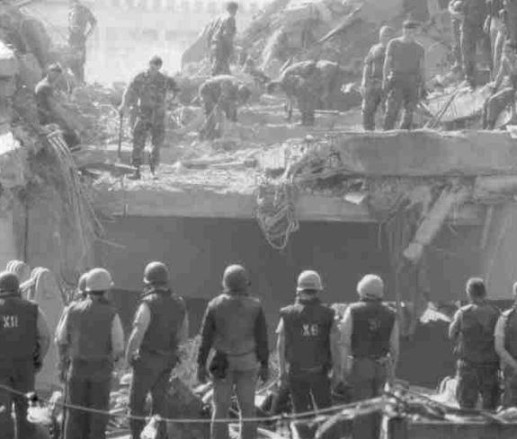 Le major (R) Omer Marie-Magdeleine se souvient de l'attentat du Drakkar  Dra210