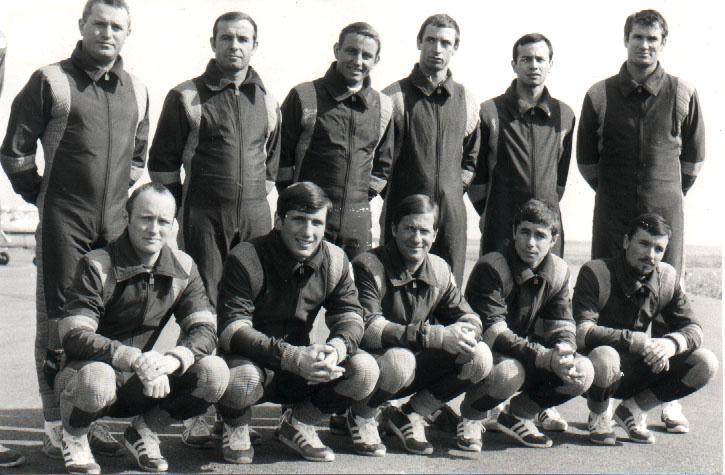 1978 Gabriel Verpillot équipe de France Parachutisme Militaire. Equipe10
