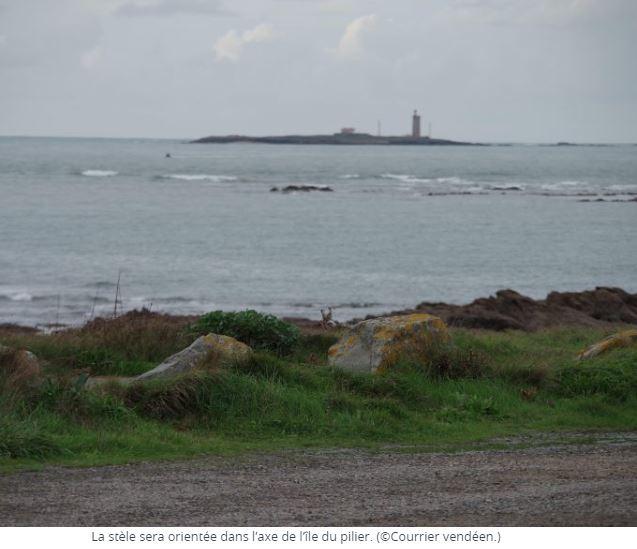 A Noirmoutier, une stèle en hommage aux morts pour la France  Ile10