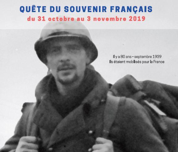 LA QUÊTE 2019 DU SOUVENIR FRANÇAIS Sfq10