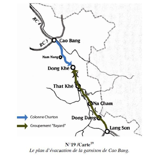 La bataille de Cao Bang et de la route coloniale numéro 4  Tk10