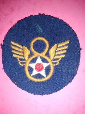 Identification patch 8th usaaf Receiv12