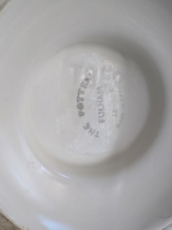 Fulham Pottery Vase Deco Style Impression 00000i10