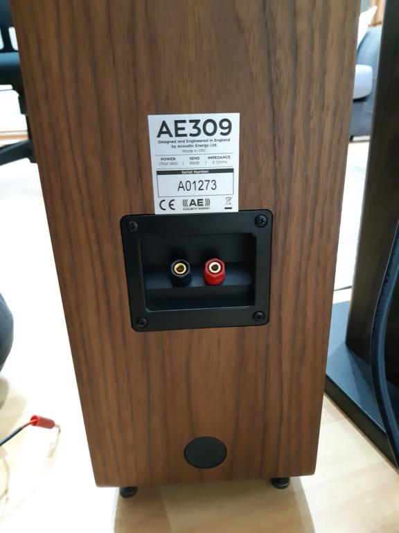 Acoustic Energy AE309 Floorstand Speakers 20210516