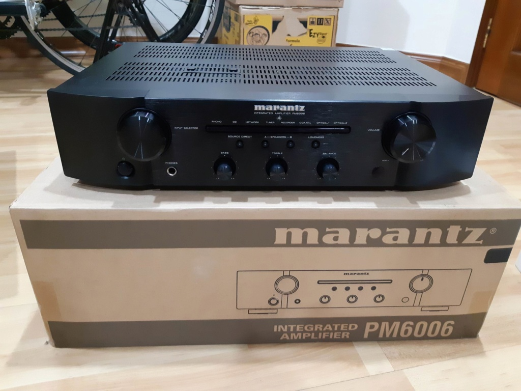 Marantz PM6006 Integrated Amplifier - SOLD Pm600610