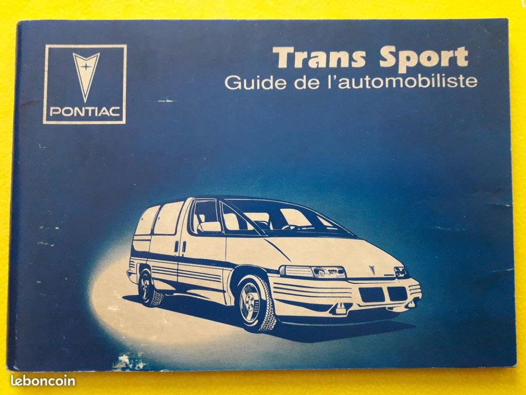 Guide utilisateur Pontiac Trans Sport 10€ 62119810