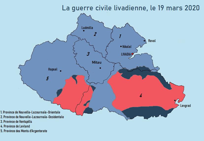 [CARTES] Situation politique et militaire de la Livadie en guerre civile 192010