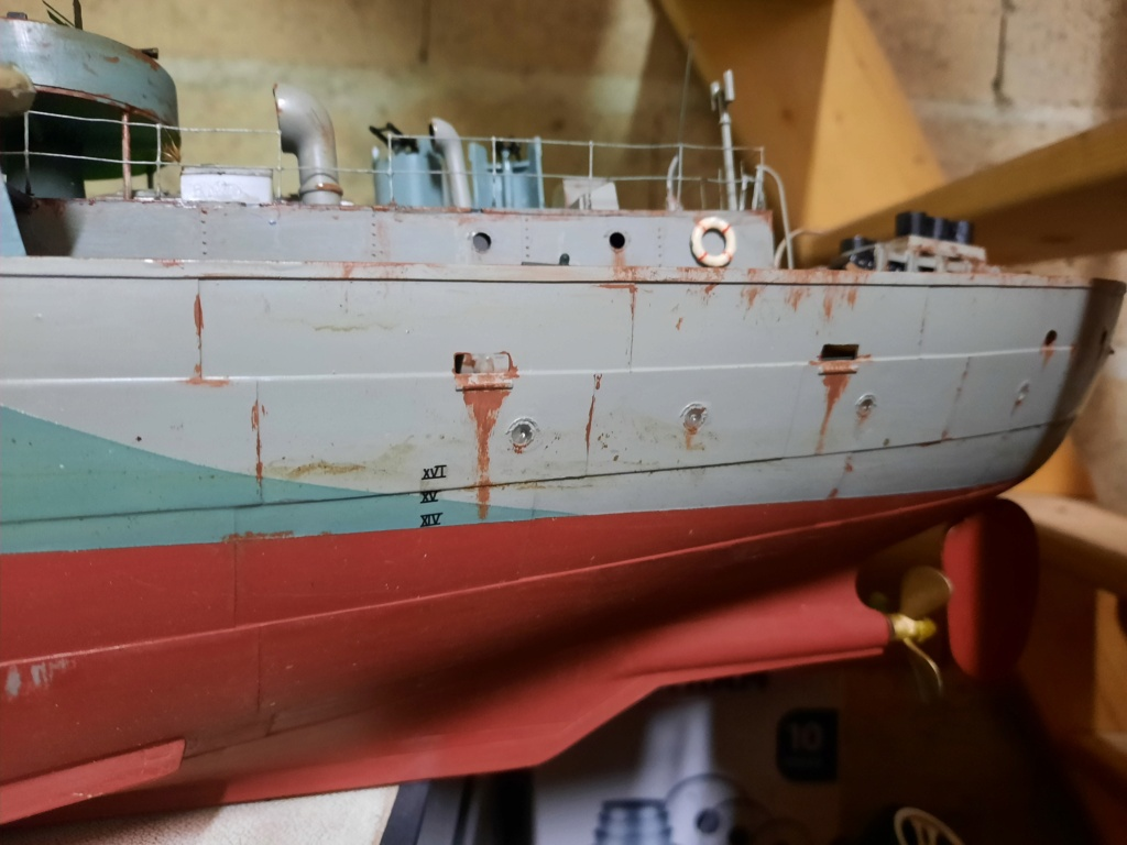"Corvette Class Flower ""Snowberry"" au 1/72 - Page 2 20210316"