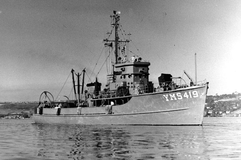 Yms-1 1/72 class minesweeper  Img_2058