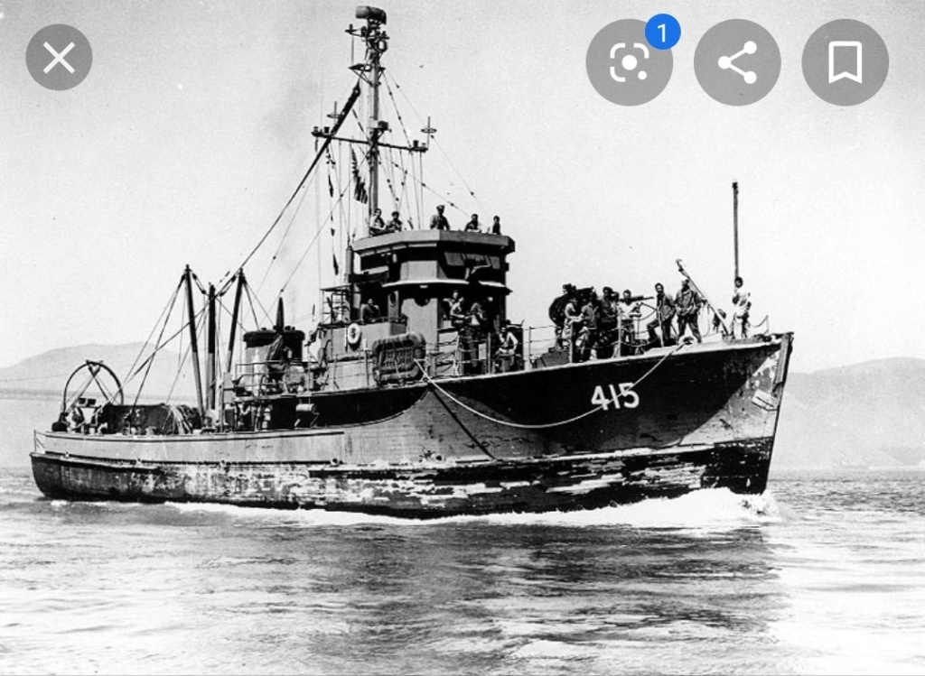 Yms-1 1/72 class minesweeper  Img_2085