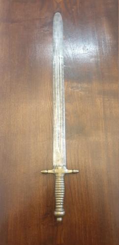 glaive de la garde nationale du Piemont Savoie 112