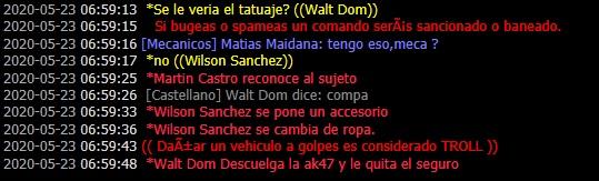 [Reporte] Walt_Dom Martin_Castro - DM [Mauricio] Asdasd10