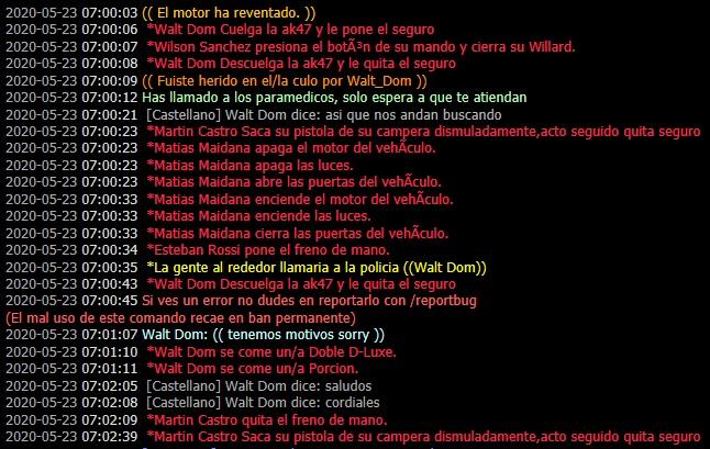 [Reporte] Walt_Dom Martin_Castro - DM [Mauricio] Asdasd11