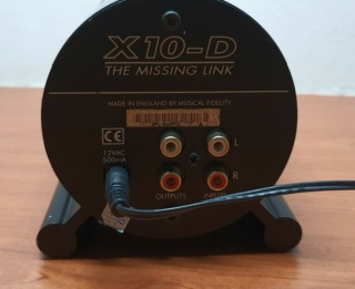 Price Reduced - Musical Fidelity X-10D  20200821
