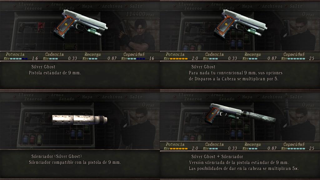 Nombres realistas de armas para RE4 Classic - by Jadiel Martins [Multi-Idioma] 110