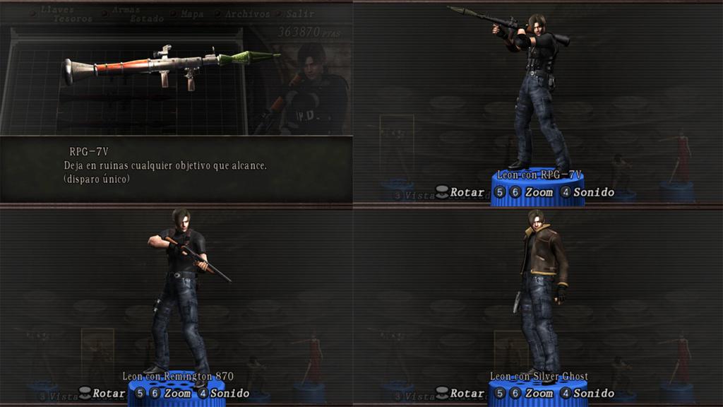 Nombres realistas de armas para RE4 Classic - by Jadiel Martins [Multi-Idioma] 1110