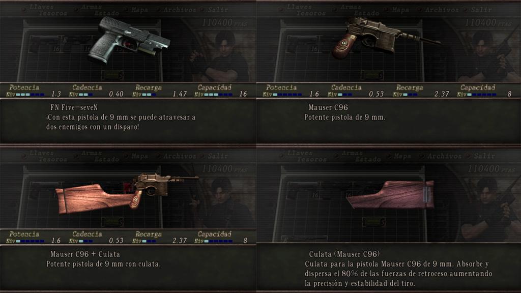 Nombres realistas de armas para RE4 Classic - by Jadiel Martins [Multi-Idioma] 210