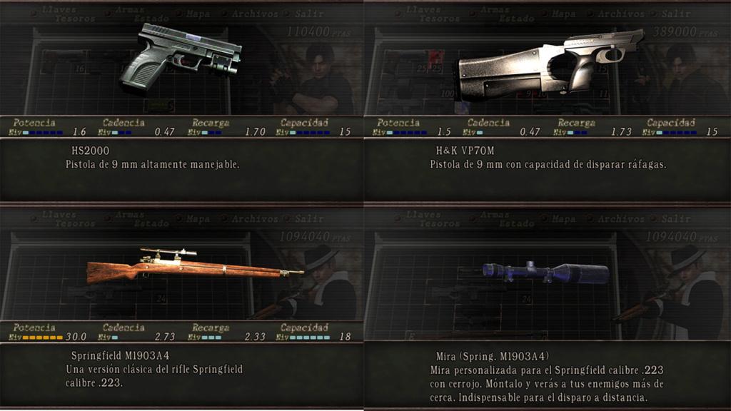 Nombres realistas de armas para RE4 Classic - by Jadiel Martins [Multi-Idioma] 310