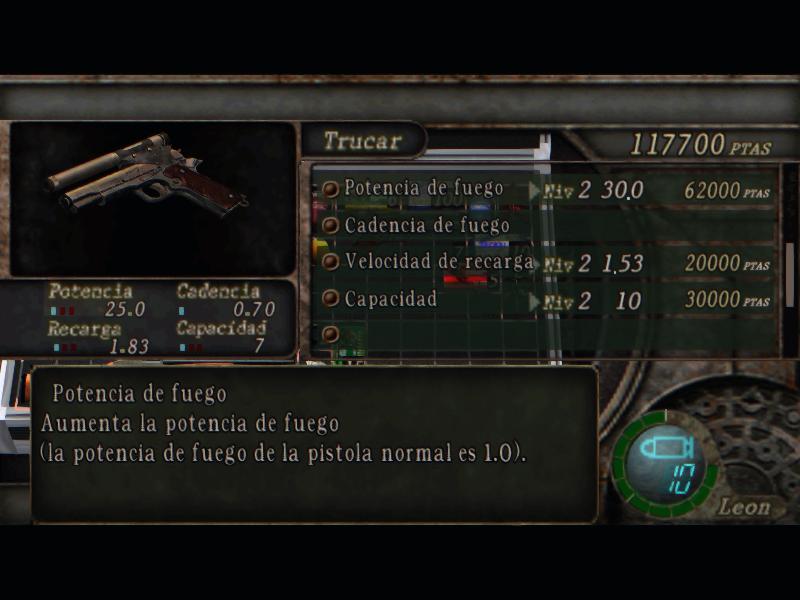 Nombres realistas de armas para RE4 Classic - by Jadiel Martins [Multi-Idioma] (Actualizado) 3_kill10