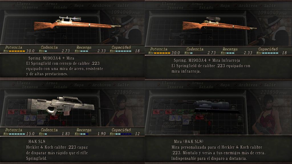 Nombres realistas de armas para RE4 Classic - by Jadiel Martins [Multi-Idioma] 410