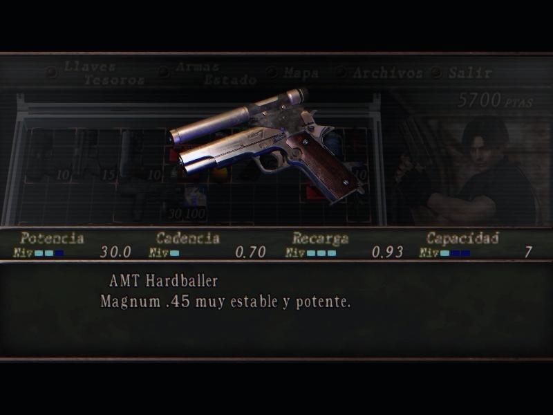 Nombres realistas de armas para RE4 Classic - by Jadiel Martins [Multi-Idioma] (Actualizado) 4_kill10